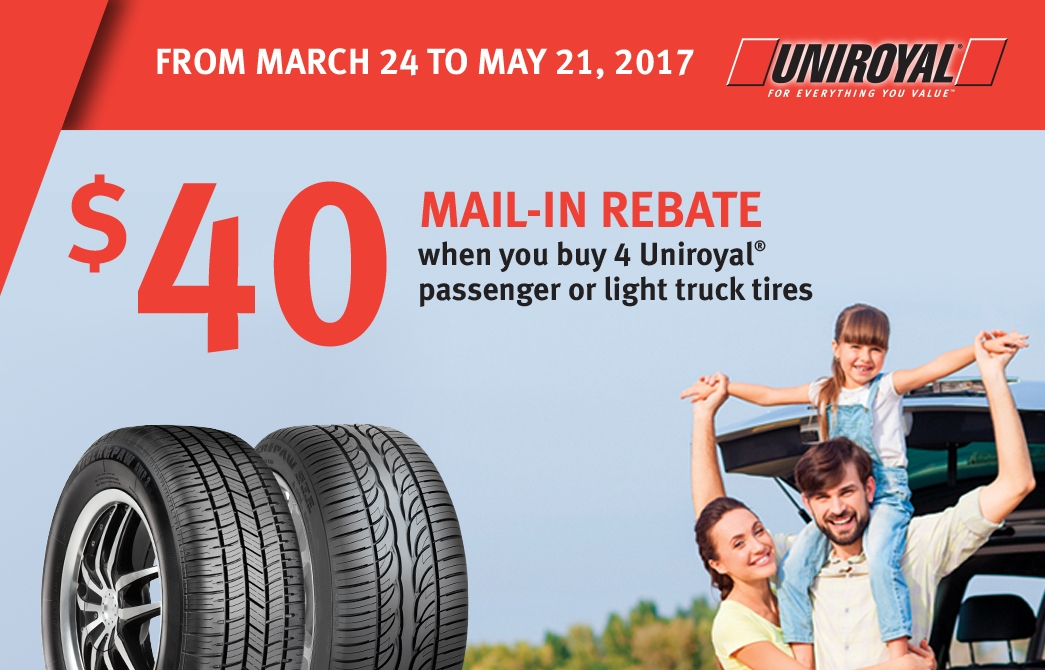 Uniroyal - Fastech Performance Tire Centres Inc.